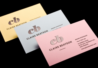 Logick print claire beatson business cards reheart Gallery