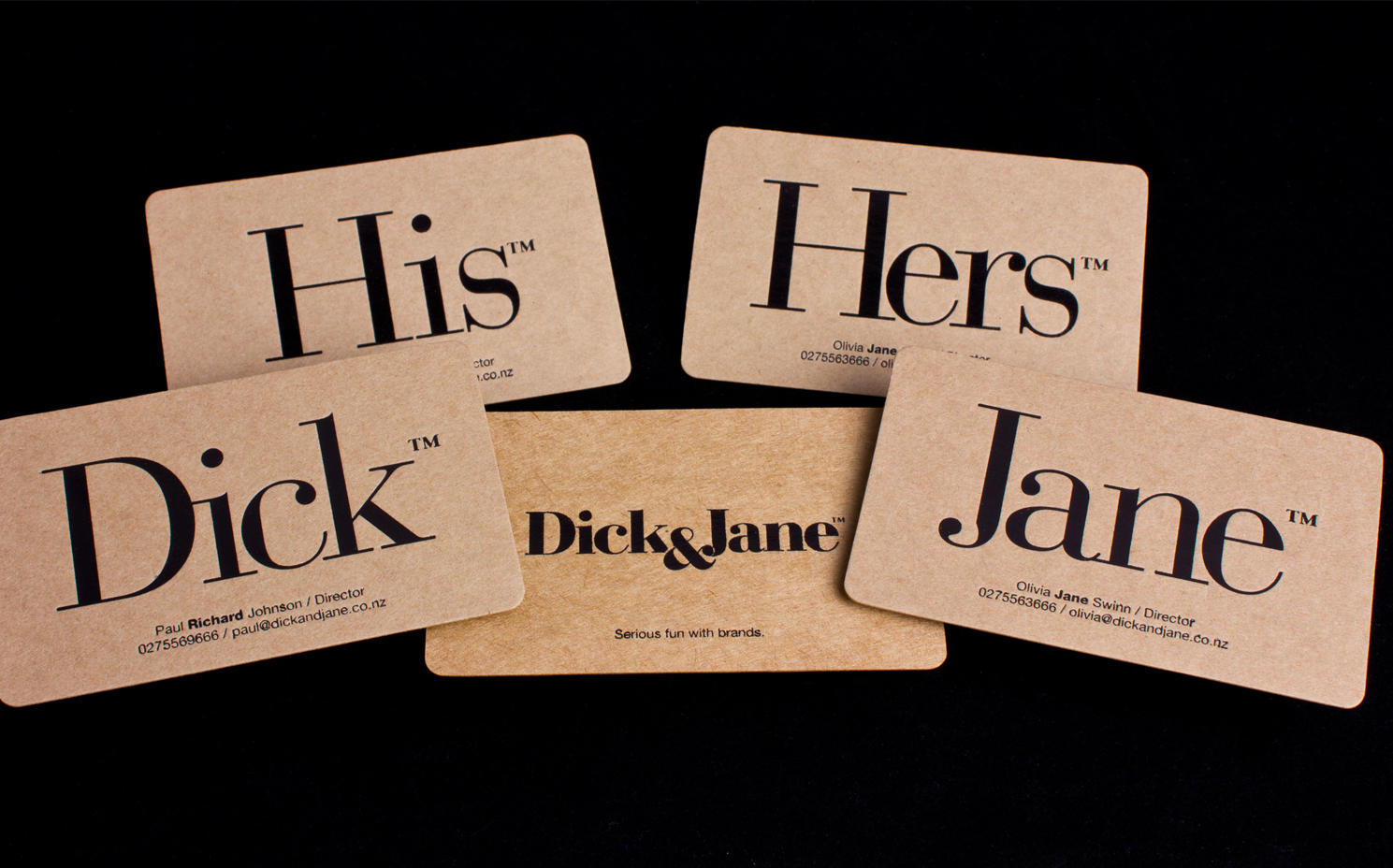 Dick jane business cards logick print reheart Gallery