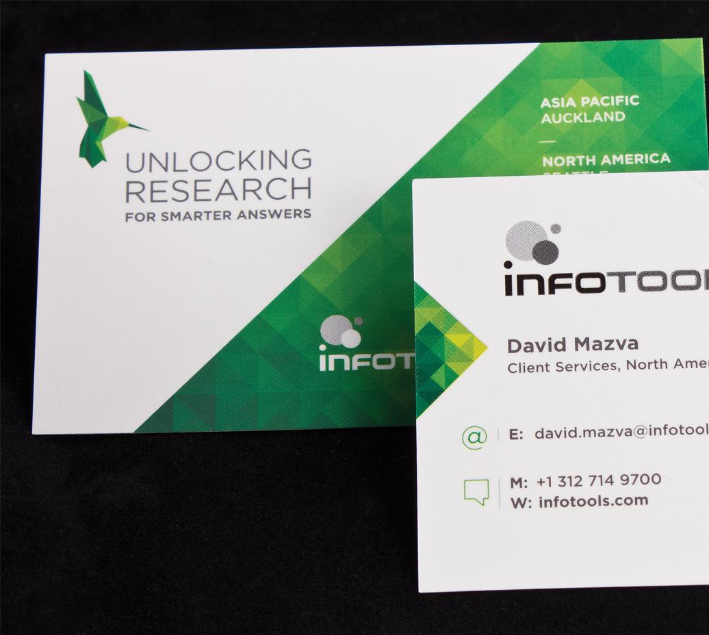 Infotools Business Cards | Logick Print