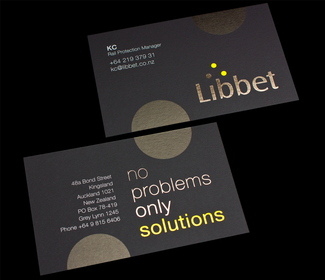 Logick print libbet business cards reheart Image collections