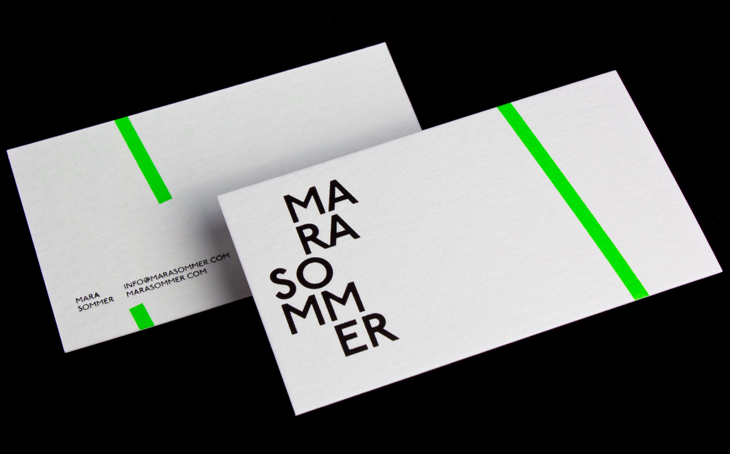 Mara Sommer Business Cards | Logick Print